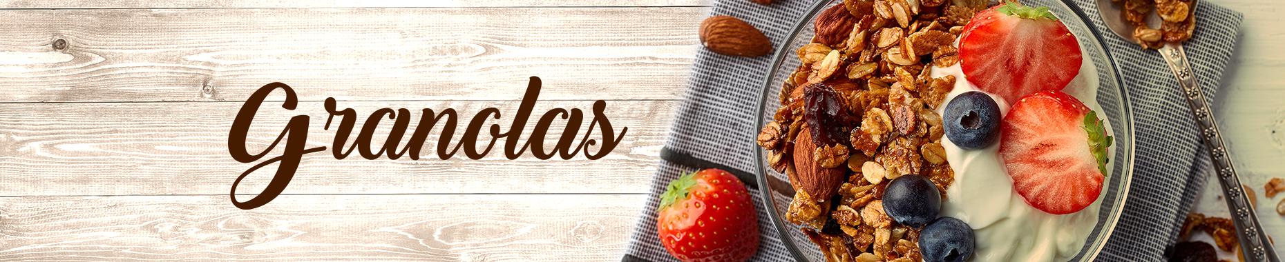 Alimentação Saudável: Granolas