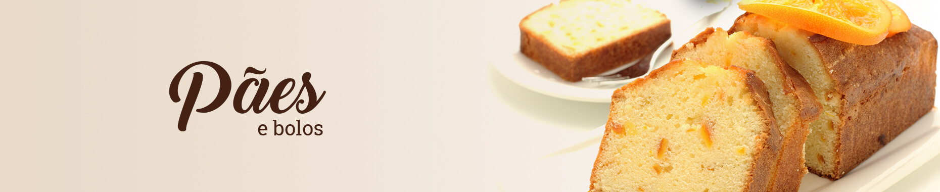 Pães e bolos Vitao