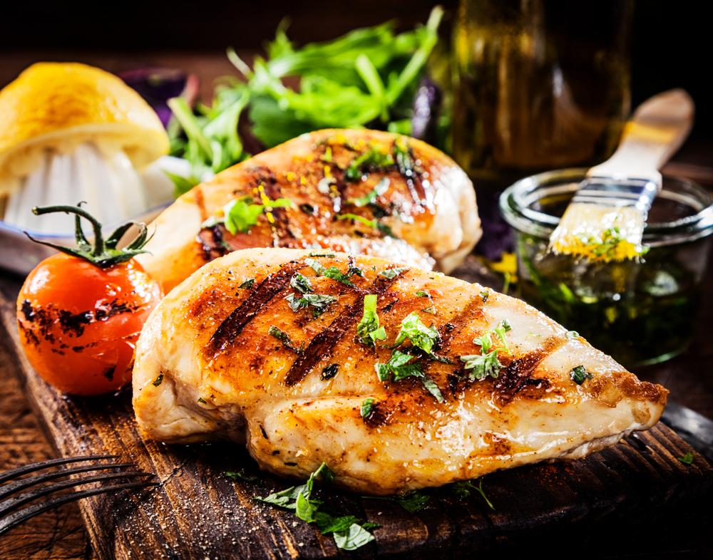 Alimentação saudável diária: carnes magras