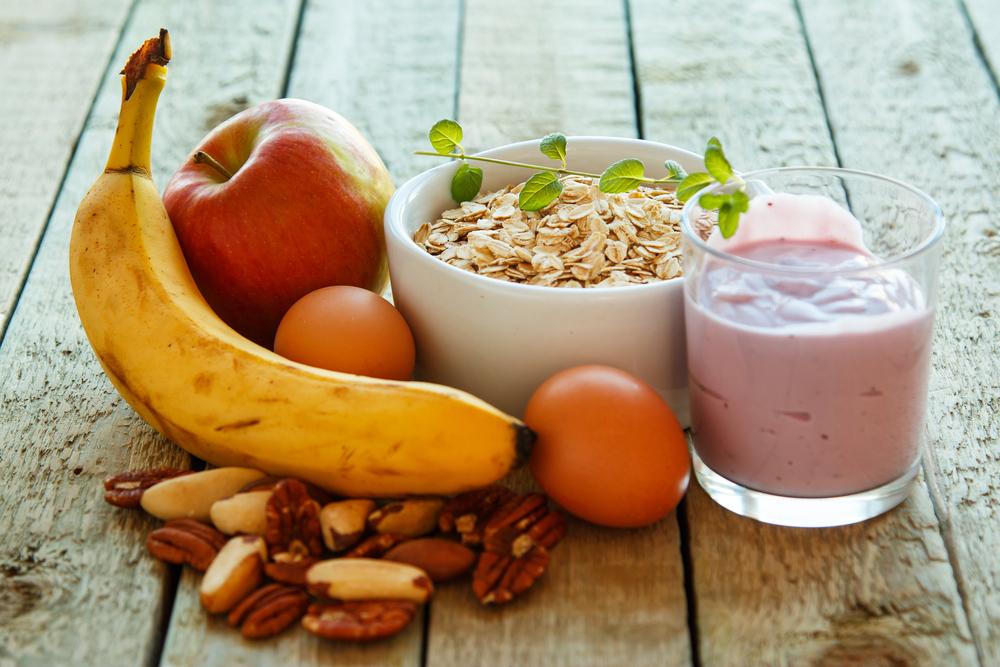 Alimentação saudável diária