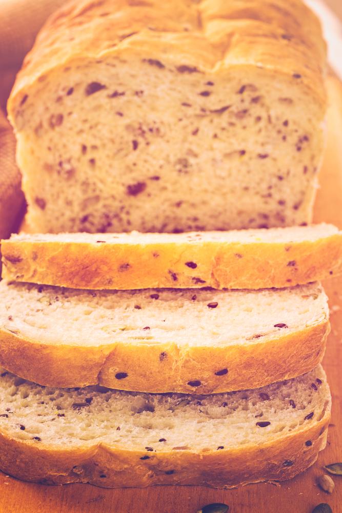 alimentação saudável: pão integral