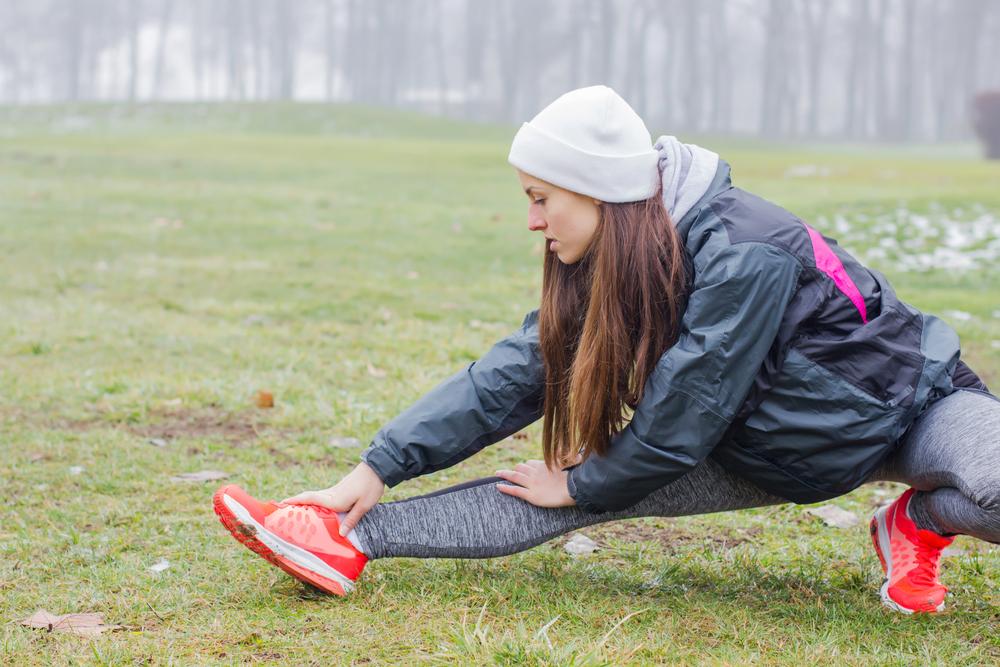 Atividades físicas no inverno: aquecimento