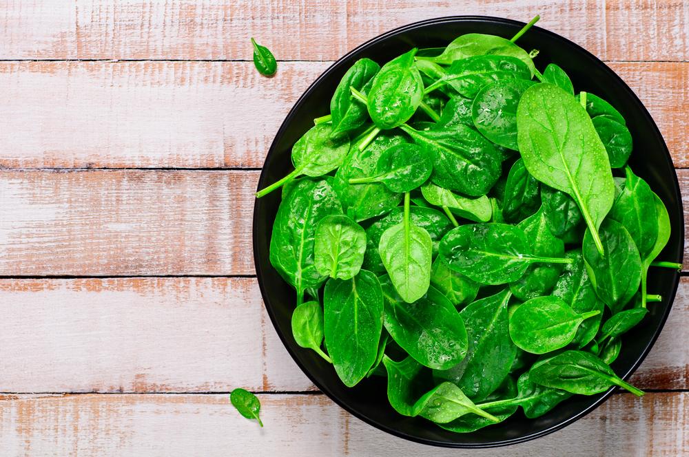 Lista de alimentos saudáveis: espinafre