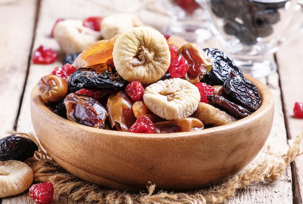 Como se tornar vegetariano: frutas secas