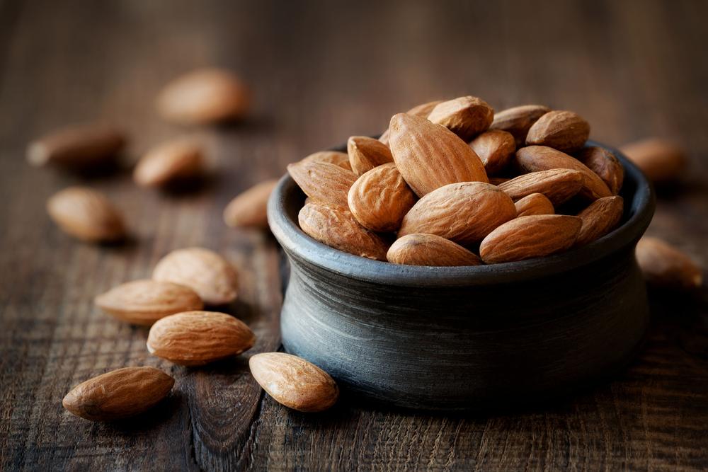 Lista de alimentos saudáveis: amêndoas