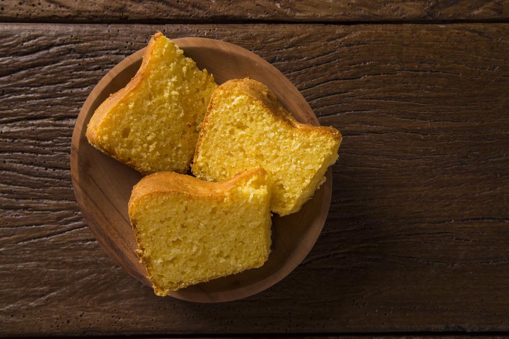 O que comer antes de correr: bolo simples