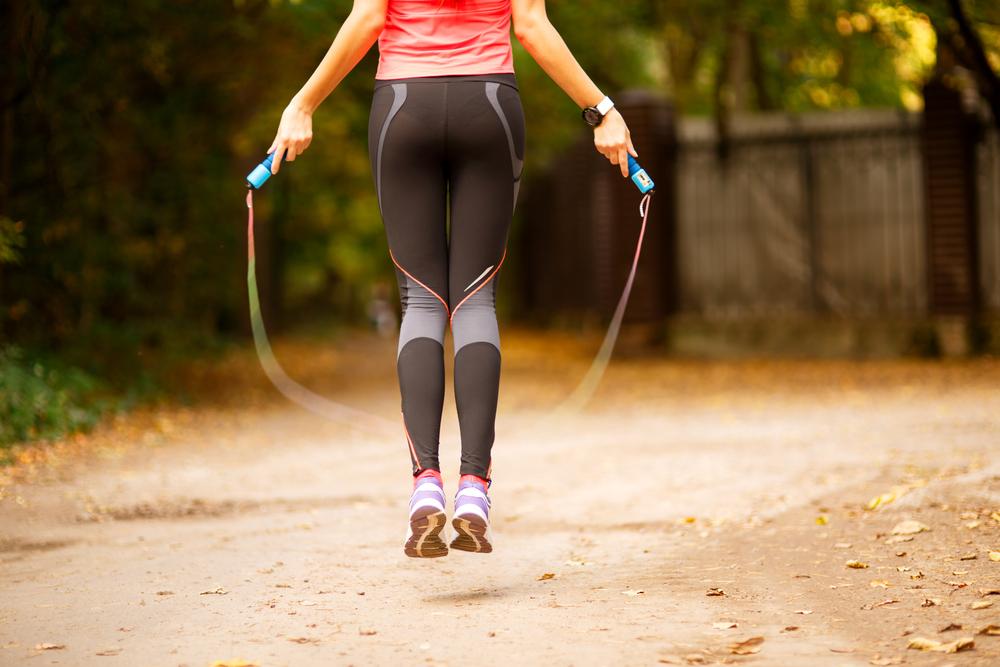 Exercícios ao ar livre: aeróbica