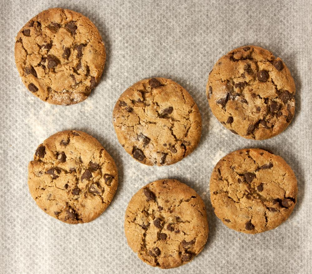 Cookie Americano Tradicional (Com açúcar mascavo)