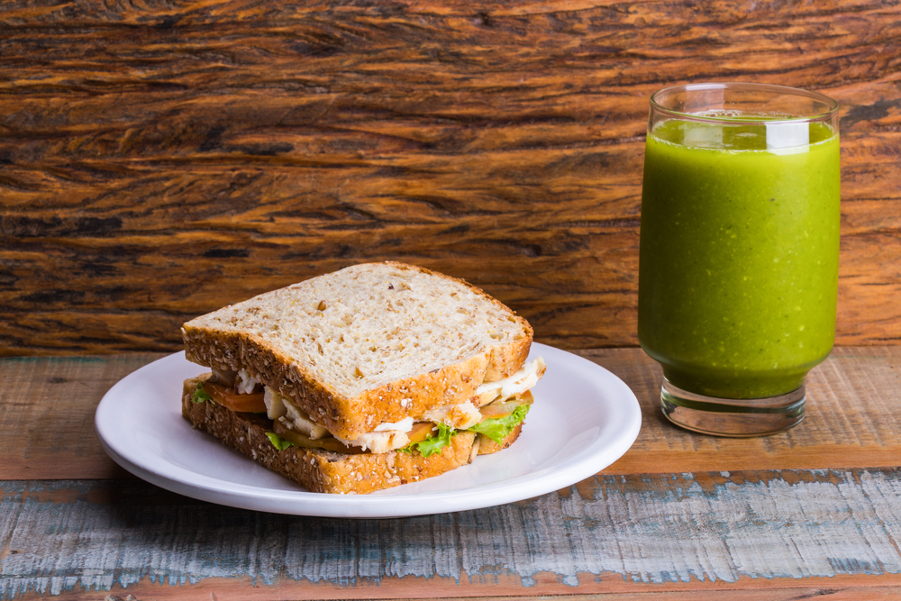 Como se alimentar bem no trabalho: sanduíche natural